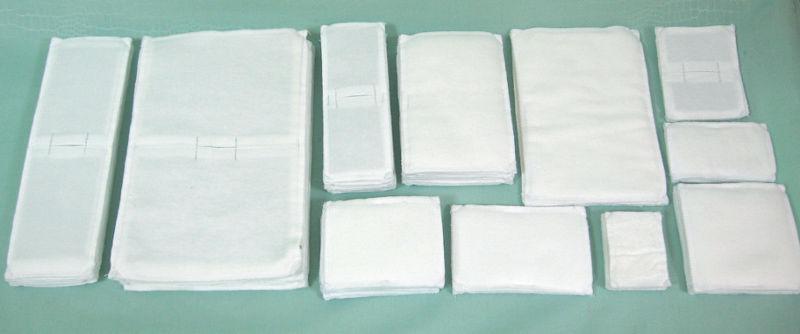 Прокладки для электрофореза размеры