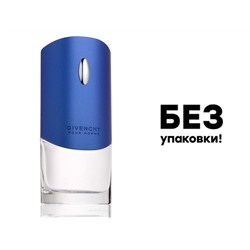 GIVENCHY POUR HOMME BLUE LABEL, Edt, 100 ml (БЕЗ УПАКОВКИ!)